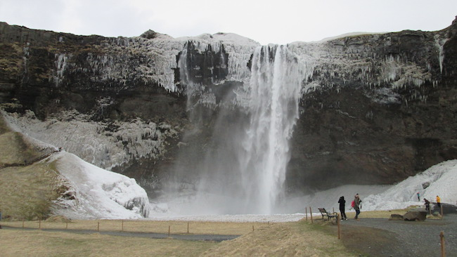 Blog_Iceland waterfall