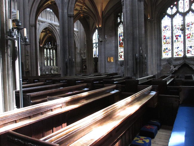 Interior of St. Mary Redcliffe Cathedral