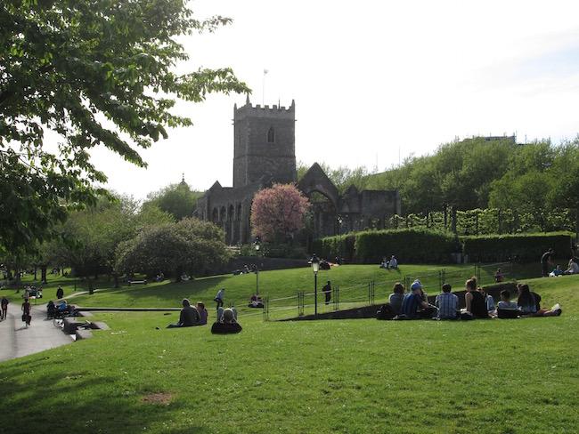Castle Park, Bristol, England