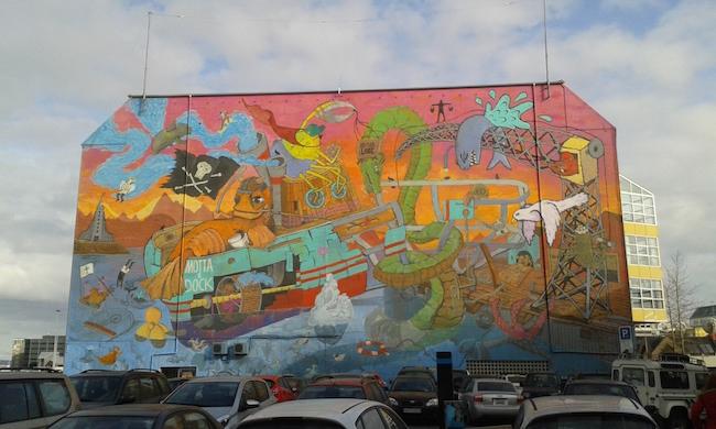 Reykjavik Street Art - Harbor