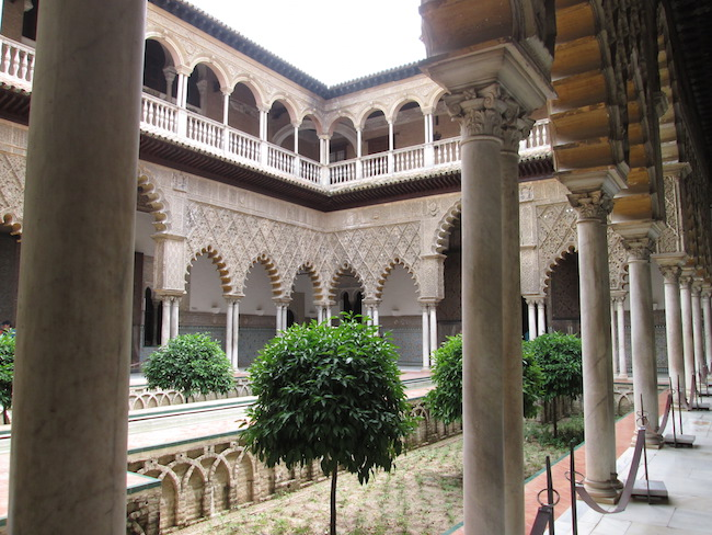 Real Alcazar Palace, Seville Spain