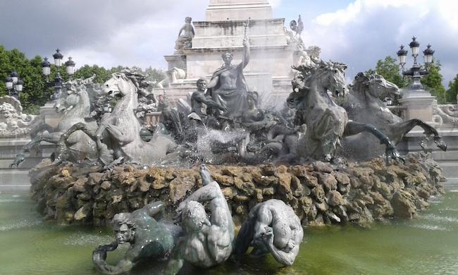 Monument aux Girondins in Place des Quinconces