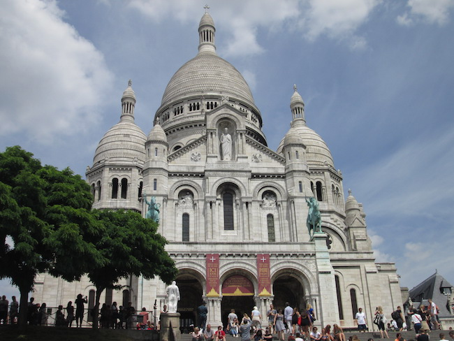 Admission is free to Sacre Coeur in Paris