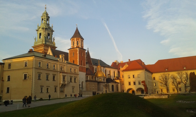 Wawel Cathedral and Castle Krakow Poland