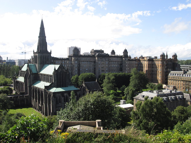 View of Glasgow Cathedral from the Necropolis