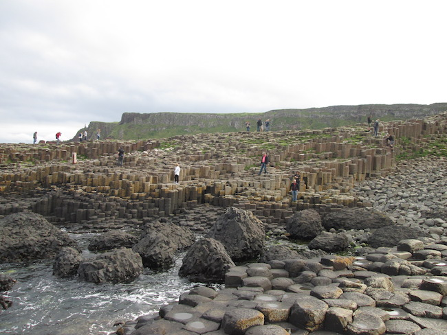 A portion of Giant's Causeway
