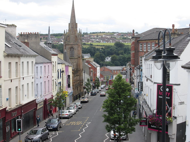 The town of Derry/Londonderry