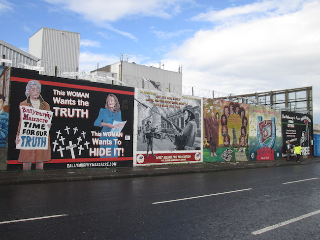 A few of the Falls Road murals