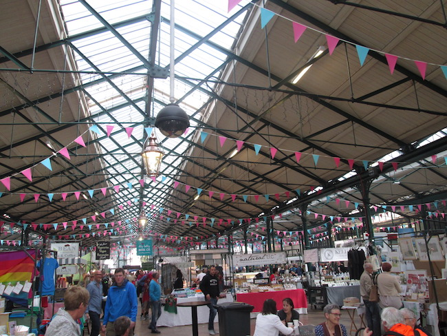 St. George's Market hall on a Saturday