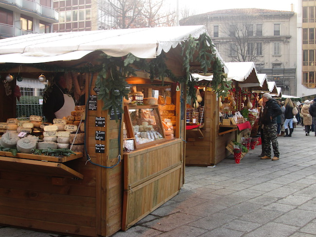 The Christmas Market in Como