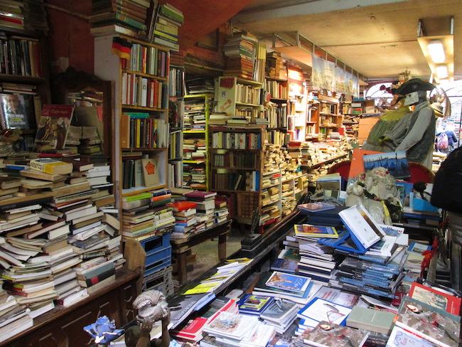 Bookstore Venice, Italy