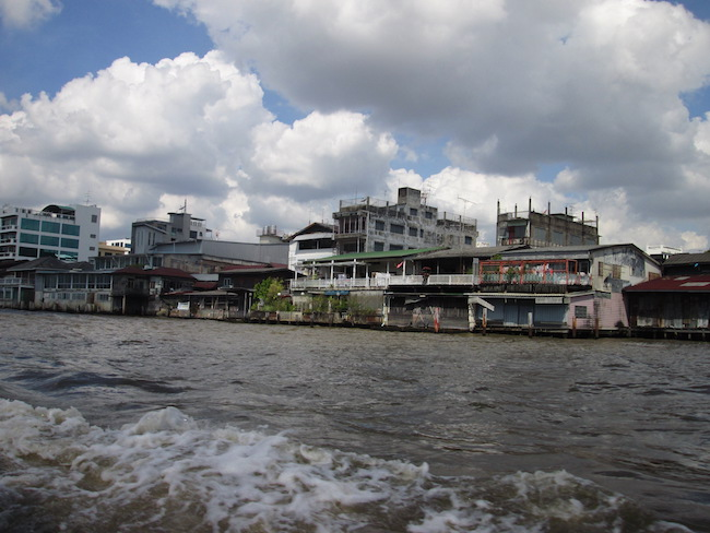 Bangkok from the Chao Phraya River