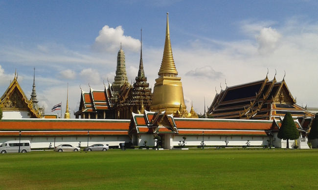 The temple at the Grand Palace