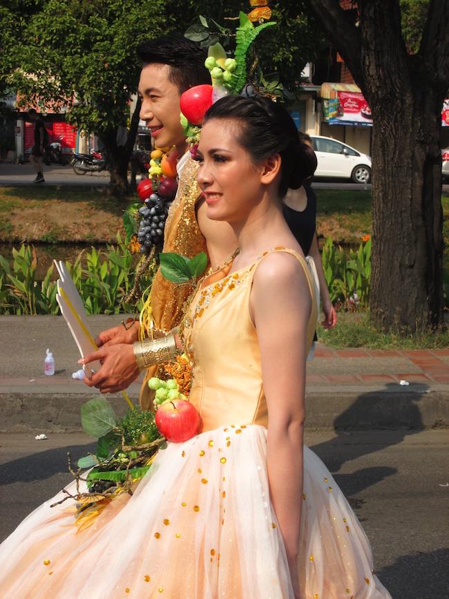 Chiang Mai Flower Festival Parade