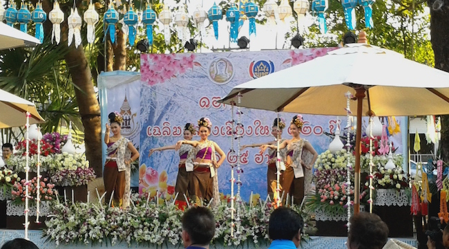 Chiang Mai Flower Festival Opening Ceremony
