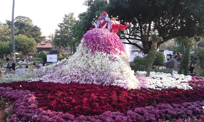 Chiang Mai Flower Festival 2016