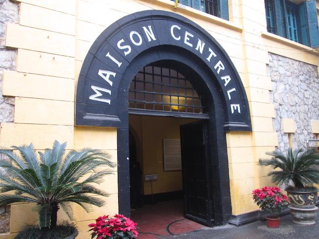 Hoa Lo Prison museum entrance