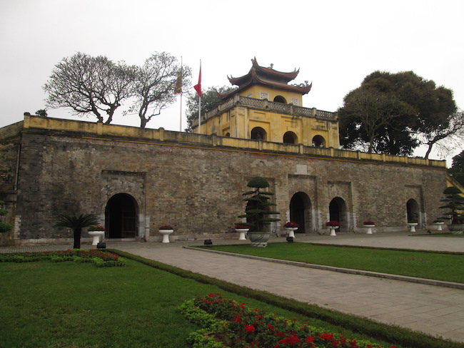 The Imperial Citadel's historic South Gate