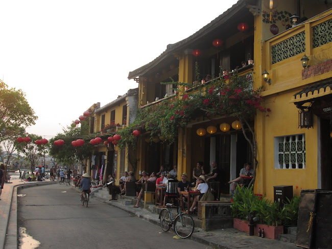 A riverside street in Hoi An